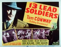 13 Lead Soldiers 1948 DVD - Tom Conway / John Newland